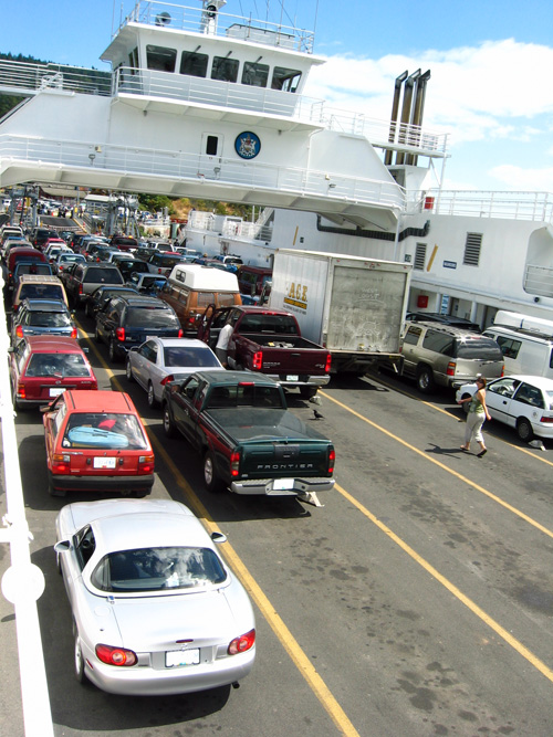 Arriving Saltspring Island photo credit: irfy via photopin cc